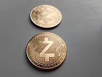 Коллекционная крипто монета Zcash ZEC, фото 1