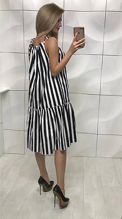 Платье с большим воланом свободного фасона, фото 2