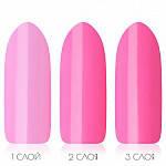 Гель-лак PNB_032 Flash Pink (ярко-розовый, неоновый,эмаль) 8ml