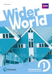 Рабочая тетрадь Wider World 1 WorkBook with Online Homework