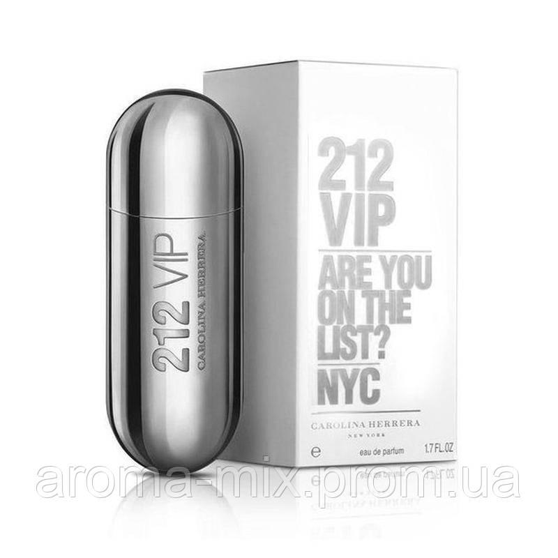 Carolina Herrera 212 VIP Silver (каролина херера 212 вип силвер) - женская туалетная вода