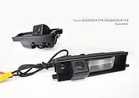 Штатная камера заднего вида Toyota RAV4 (Falcon SC02 HCCD-170)