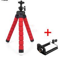 Универсальный держатель Тренога мини гибкий штатив для фотоаппаратов и видеокамер мини-трипод, тринога штатив
