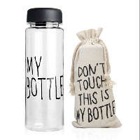 "Бутылка ""My Bottle"" с чехлом 500ml"