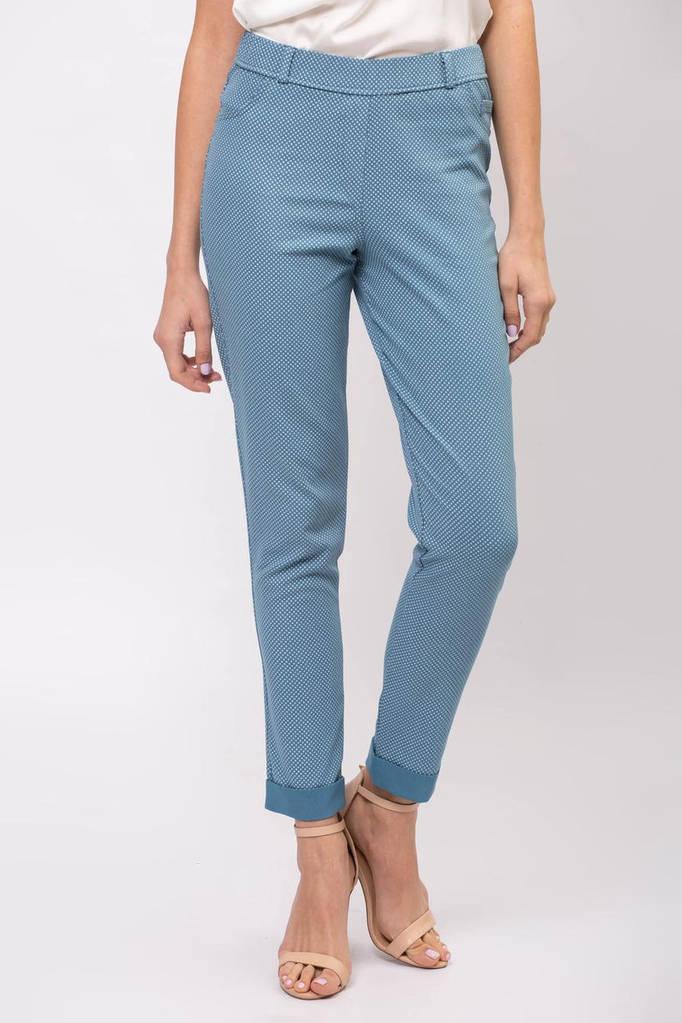 Брюки ERIKA цвета джинс