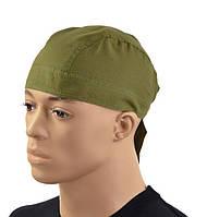 Хлопковая военная бандана Mil-Tec цвет олива, фото 1
