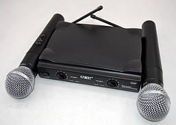 Радиосистема на 2 микрофона с чемоданом UT-24/SM5811
