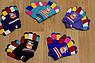 Детские перчатки на флисе цветные. 3 - 6 лет, фото 4