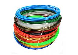 3d pen filament1.75mm 200метров 6цветов