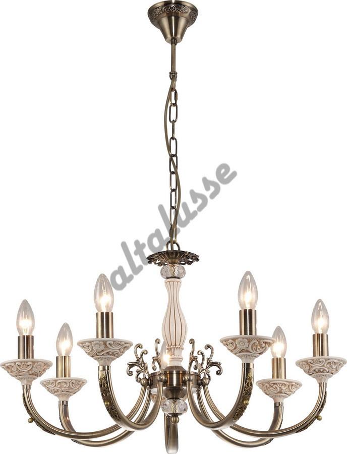 Люстра свечи классическая Античная бронза INL-6113P-07