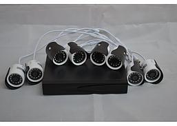 DVR D001 Регистратор + 8 камер