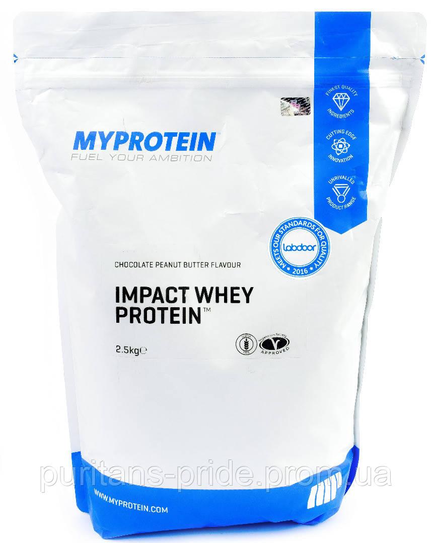 Сывороточный протеин Myprotein Impact Whey Protein 2500г
