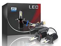 Автолампы LED M1 CSP, H4, 8000LM, 40W, 9-32V