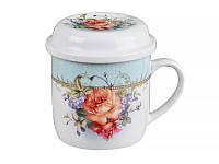 """Чашка фарфоровая заварочная Lefard """"Цветочный сад"""" 250 мл 165-304"""