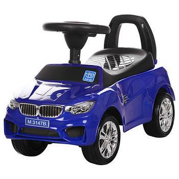 Каталка-толокар для малюків M 3147B-4 BMW прогумовані колеса