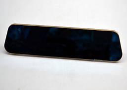 Видеорегистратор-зеркало с камерой заднего вида DVR-138W (gold)
