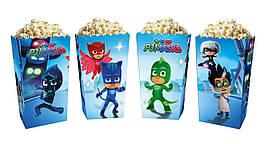 Коробки для сладостей и попкорна Герои в масках (5 штук)