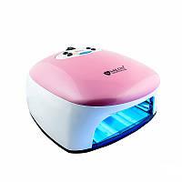 УФ лампа Salon Professional  36w (бело-розовая), фото 1