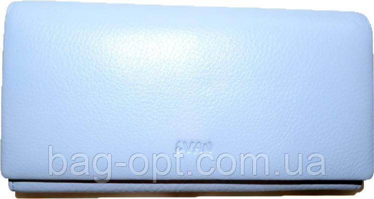 Женский кошелек из натуральной кожи Lvan (10.5x19x3.5)