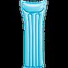 Пляжный надувной матрас Intex 183x69 см Голубой (59703)