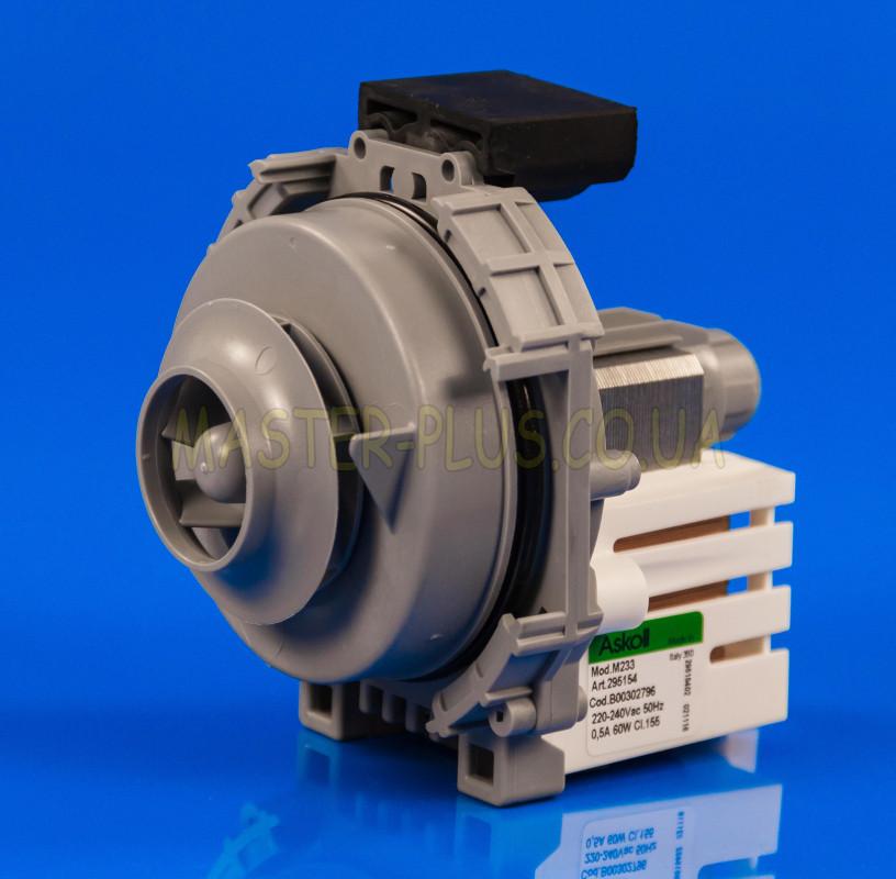 Двигатель циркуляционный на Ariston Indesit Askoll M233