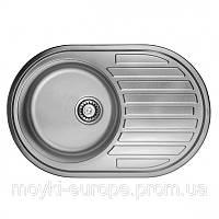 Мойка кухонная 7750  0,6 мм матовая врезная Imperial