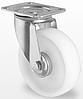 Поворотное колесо диаметром 80 мм из полипропилена нагрузка 100 кг
