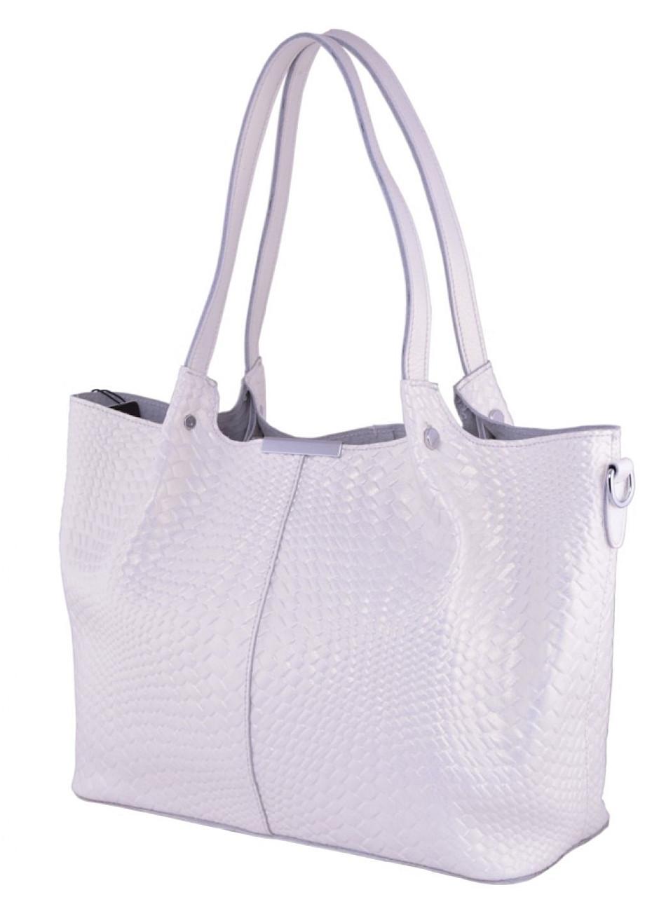 a826d62d3ef2 Женская кожаная сумка FR 661-1 белый Кожаные женские сумки купить Одесса 7  км -
