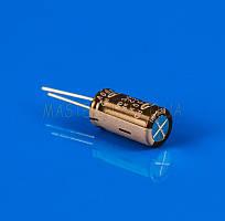 Полярный конденсатор 22mf 400V