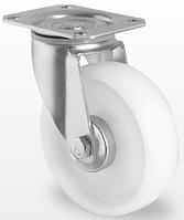 Поворотное колесо диаметром 100 мм из полипропилена нагрузка 120 кг