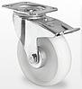 Поворотне колесо з гальмом діаметром 100 мм з поліпропілену навантаження 120 кг