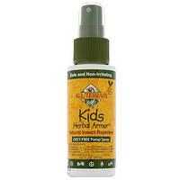All Terrain, Kids Herbal Armor, Натуральный репеллент от насекомых, 2,0 ж унц (60 мл), купить, цена, отзывы