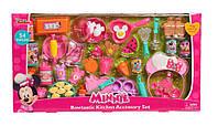 Ігровий набір для кухні з мінні 54 предмета Disney Junior Minnie Bow-Tique Bowtastic Kitchen Accessory Set, фото 1