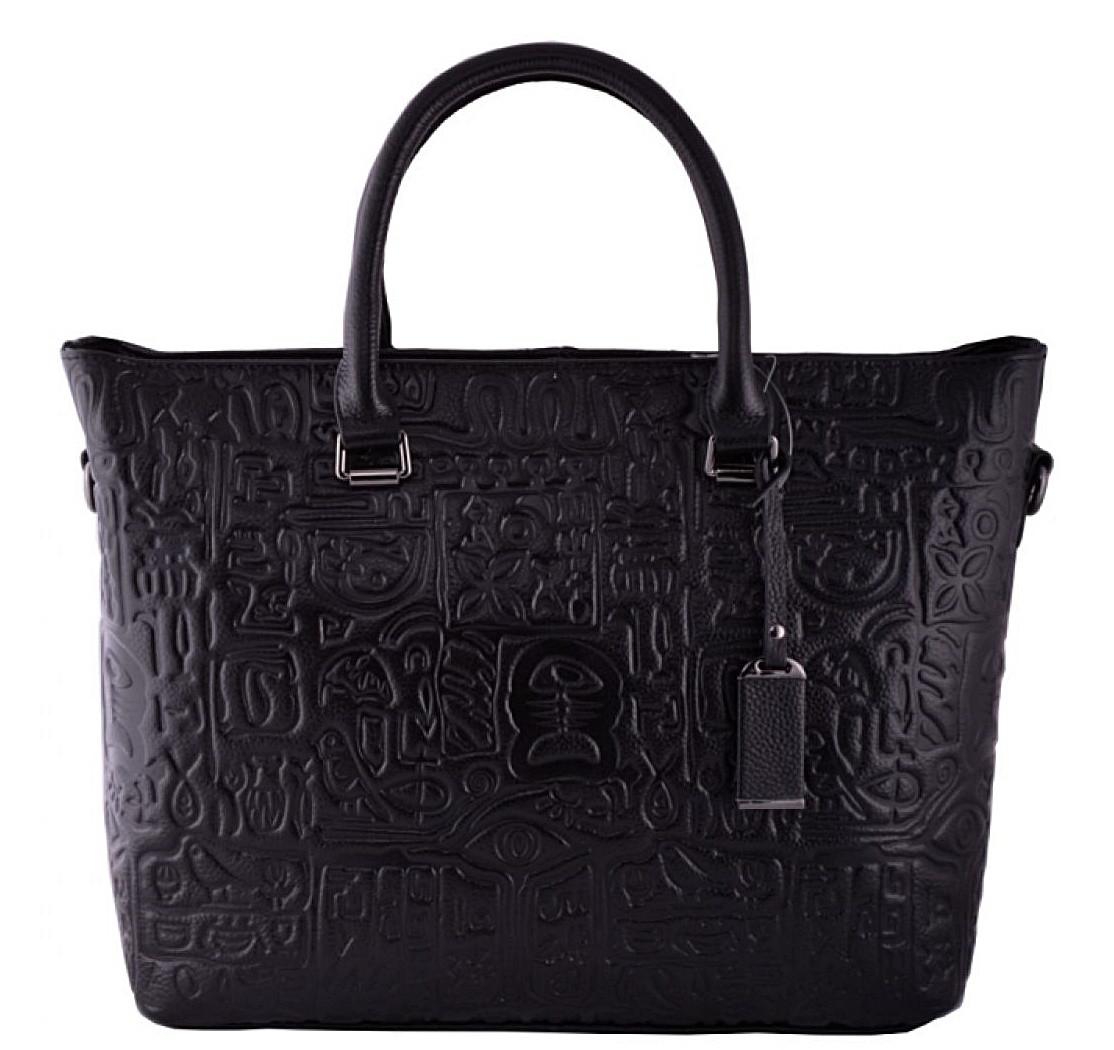 Женская кожаная сумка 9011 черный Кожаные женские сумки купить Одесса 7 км 87a9257b3fa