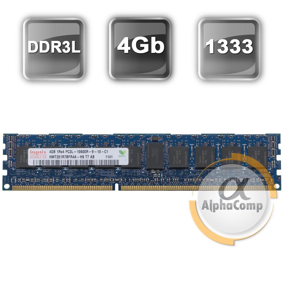 Модуль памяти DDR3 RDIMM 4Gb Hynix (HMT351R7BFR4A-H9) registered 1333 БУ