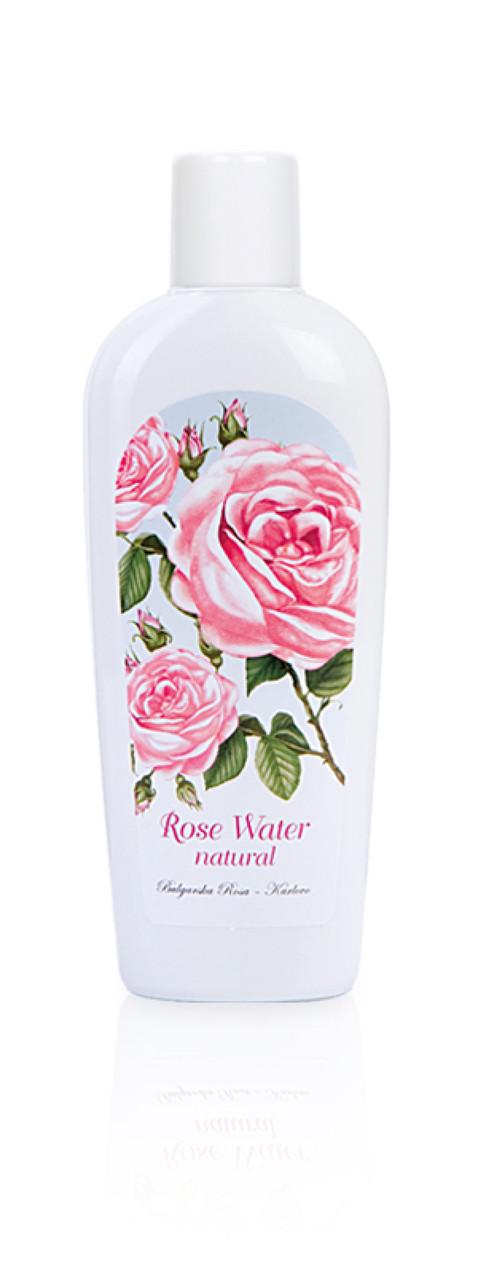 Розовая вода натуральная Болгарская Роза Rose Гидролат Розы 150 мл
