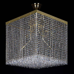Хрустальный светильник LEANDRA 500x500 ArtGlass