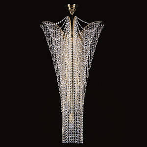 Хрустальный светильник MELANIE dia. 550x1000 ArtGlass