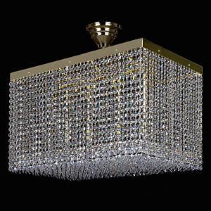 Хрустальный светильник LEANDRA 350x600 ArtGlass