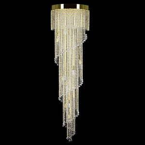 люстра хрустальный водопад SPIRAL SPIRAL 500x1800 BALLS CE ArtGlass