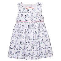 Детское нарядное платье с пышной юбкой для девочки, 6 - 12 мес.