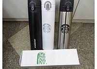 Термос  Starbucks-5 (B)  (черный, белый)