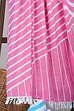 Полотенце-пештемаль пляжное Cross 95х165 розовый Barine, фото 2
