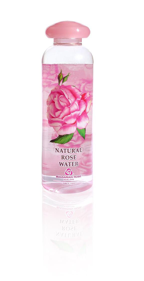 Розовая вода натуральная Болгарская Роза Гидролат Розы 330 мл