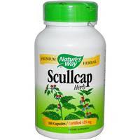 Scullcap Шлемник байкальский 100 капс 425 мг натуральное успокоительное  Nature's Way USA