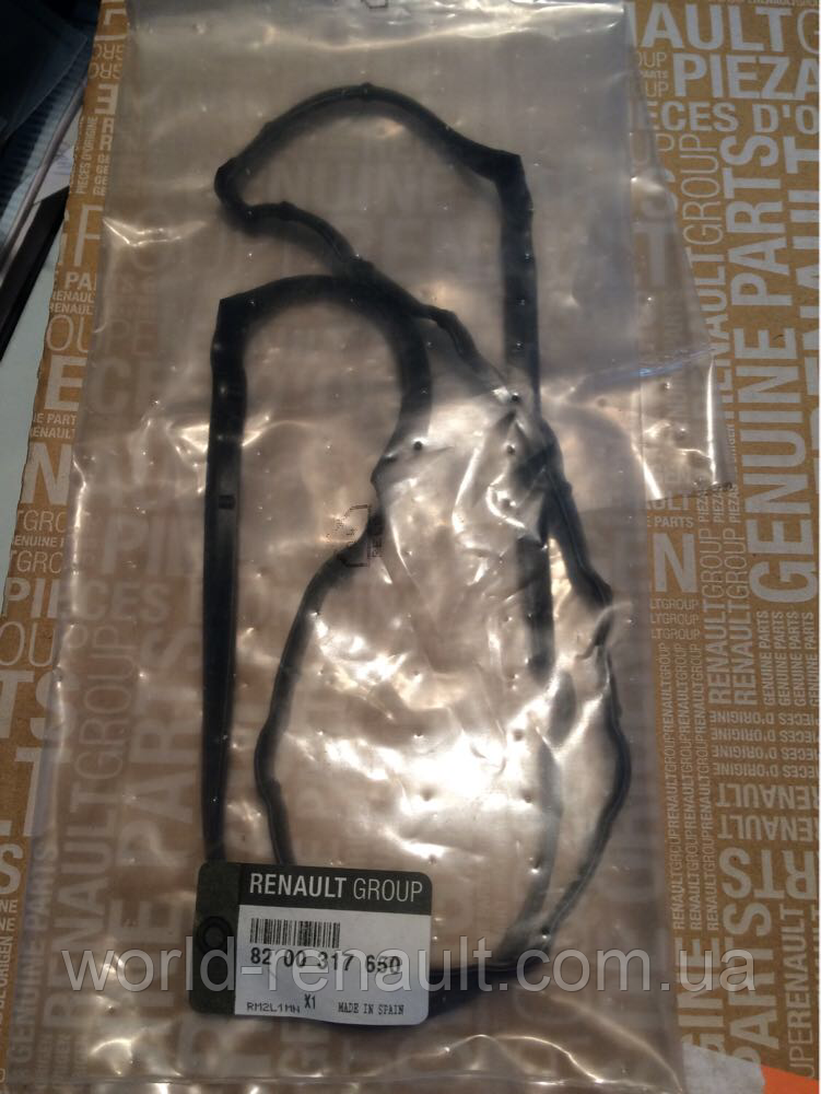 Прокладка клапанной крышки на Рено Лоджи, Дачиа Лоджи/ Renault ORIGINAL 8200317650