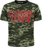 """Футболка Cannibal Corpse """"Kill"""" (пиксельный камуфляж)"""