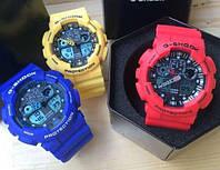 Неубиваемые спортивные наручные часы Casio G-Shock GA 100