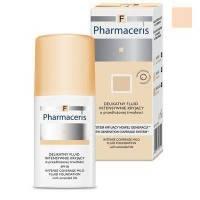 Деликатный тональный флюид Pharmaceris F - Intense Coverage Mild Fluid Foundation SPF20 №01 Слоновая кость - 30 ml ( EDP43537 )