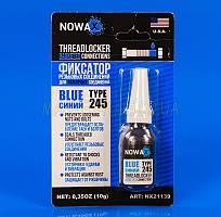Фиксатор резьбы NOWAX Threadlocker 10г синий